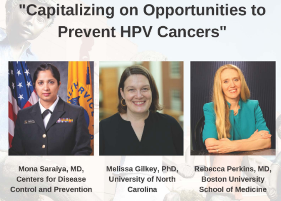"""The St. Jude HPV #CancerPrevention Program hosts a virtual seminar today 11 a.m.-12:15 p.m. CT/noon-1:15 p.m. ET. """"Capitalizing on Opportunities to Prevent HPV Cancers"""" will feature experts in the field. There's still time to register. https://t.co/LxxEkOLlEu @BlondeScientist https://t.co/XR612St5lN"""
