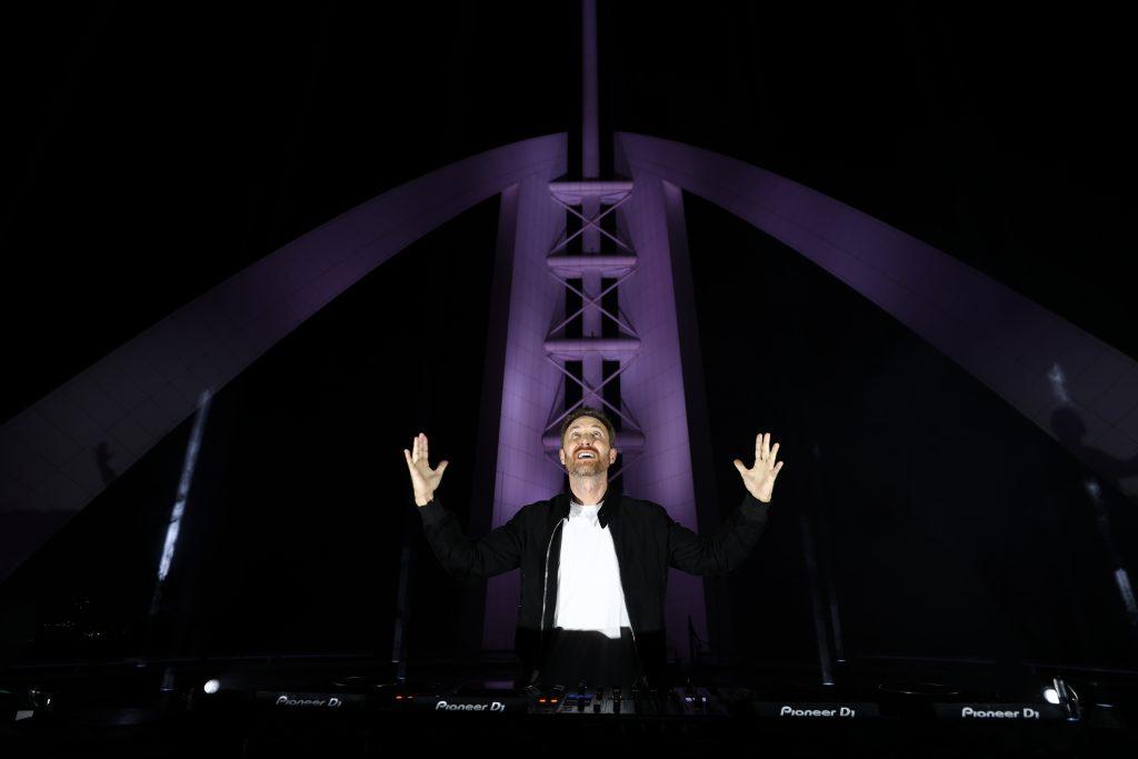 David Guetta promove live #UnitedAtHome em Dubai: