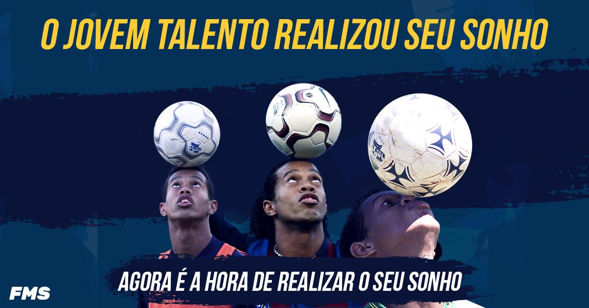 Eu era um garoto com um grande sonho - assim como você! Você consegue! Inscreva-se agora no @Football_FMS >>