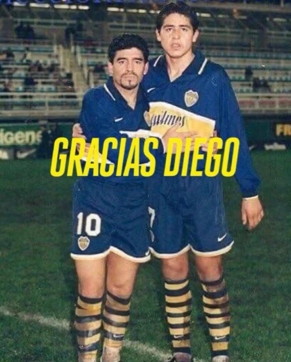 #CARICATURASyFOTOS nº1600  #GraciasDIEGO   Los mas grandes!!! Diego y Roman