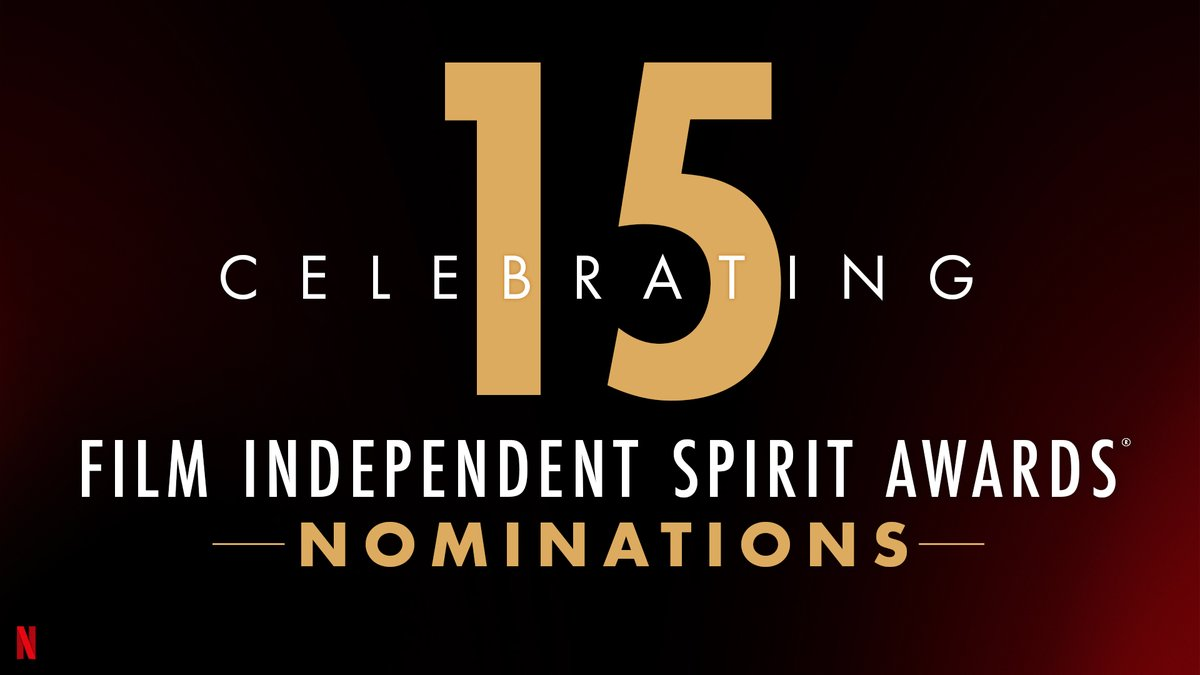 Replying to @netflixqueue: Congratulations to our 15 Film and Series nominees at the 2021 @filmindependent Spirit Awards!