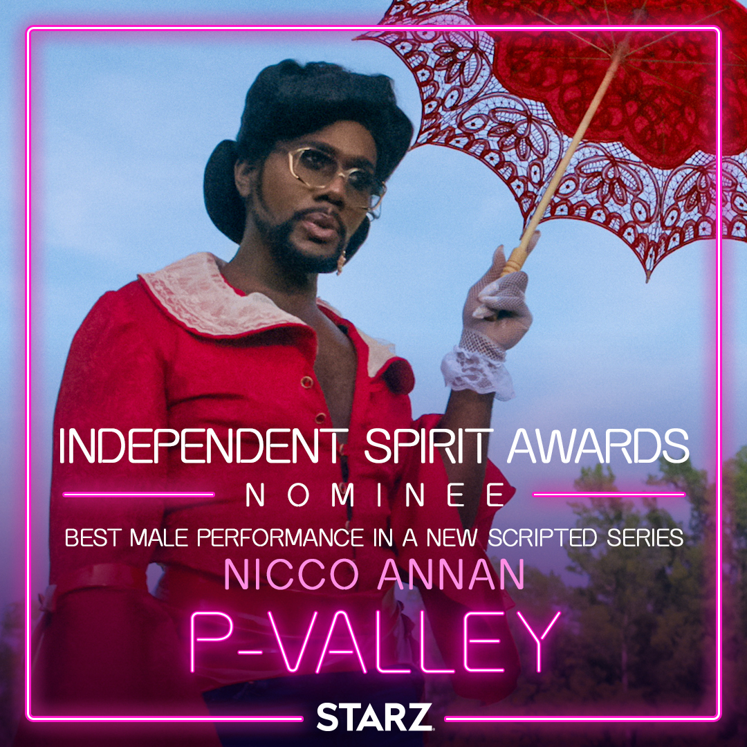 Good things happening this morning y'all! Congrats to @AllDayNicco on his #SpiritAwards nomination 🥂 #PValley