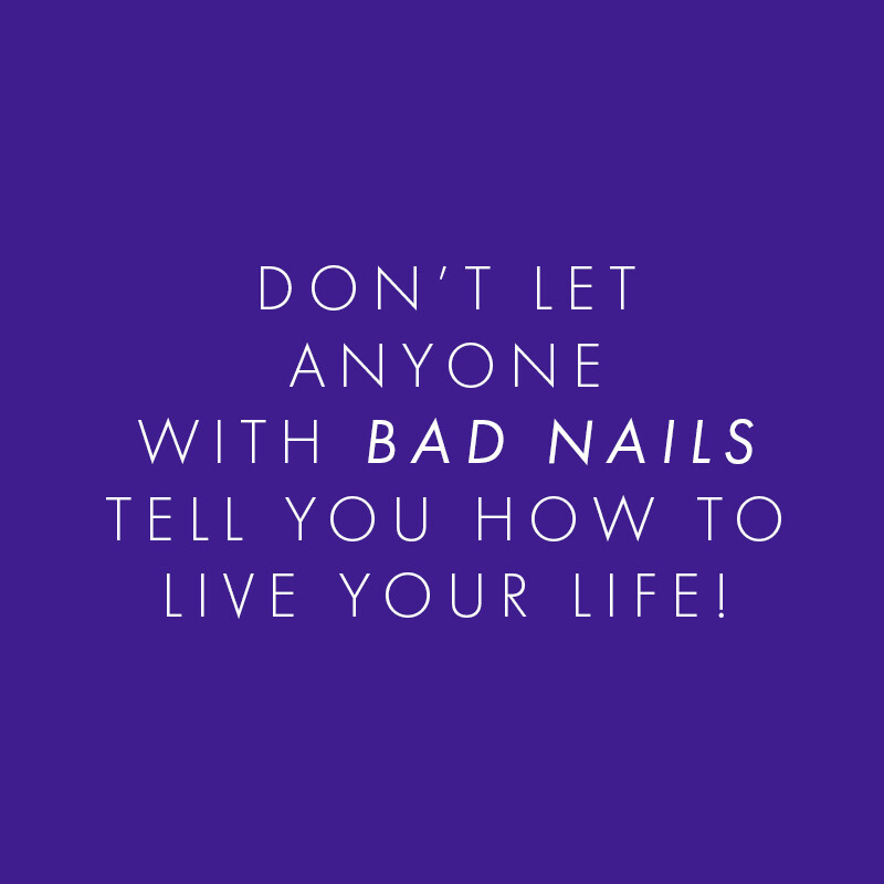 There's no excuse for bad nails!  Look good and feel fabulous with great nails.💅🏻  #NailAddiction #NailLife #Nails https://t.co/RUP7rEPuFr