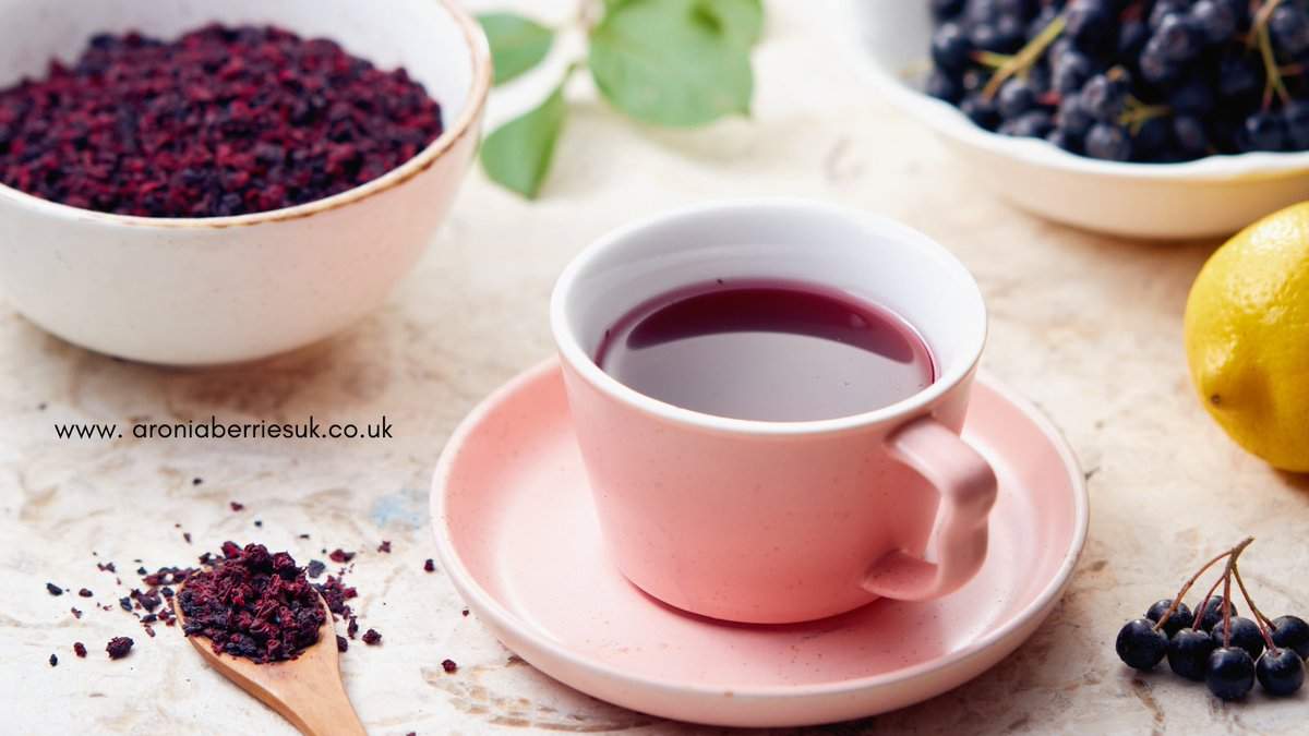 Time for a cuppa?  As well as our Tickleberries #Aronia Juice you will find aronia used in an other products like fruit tea! We have been fortunate to supply our aronia #berries to other fabulous producers for products from jam to ice cream.  Have you tried aronia berries yet? https://t.co/1H2DZfMuqh