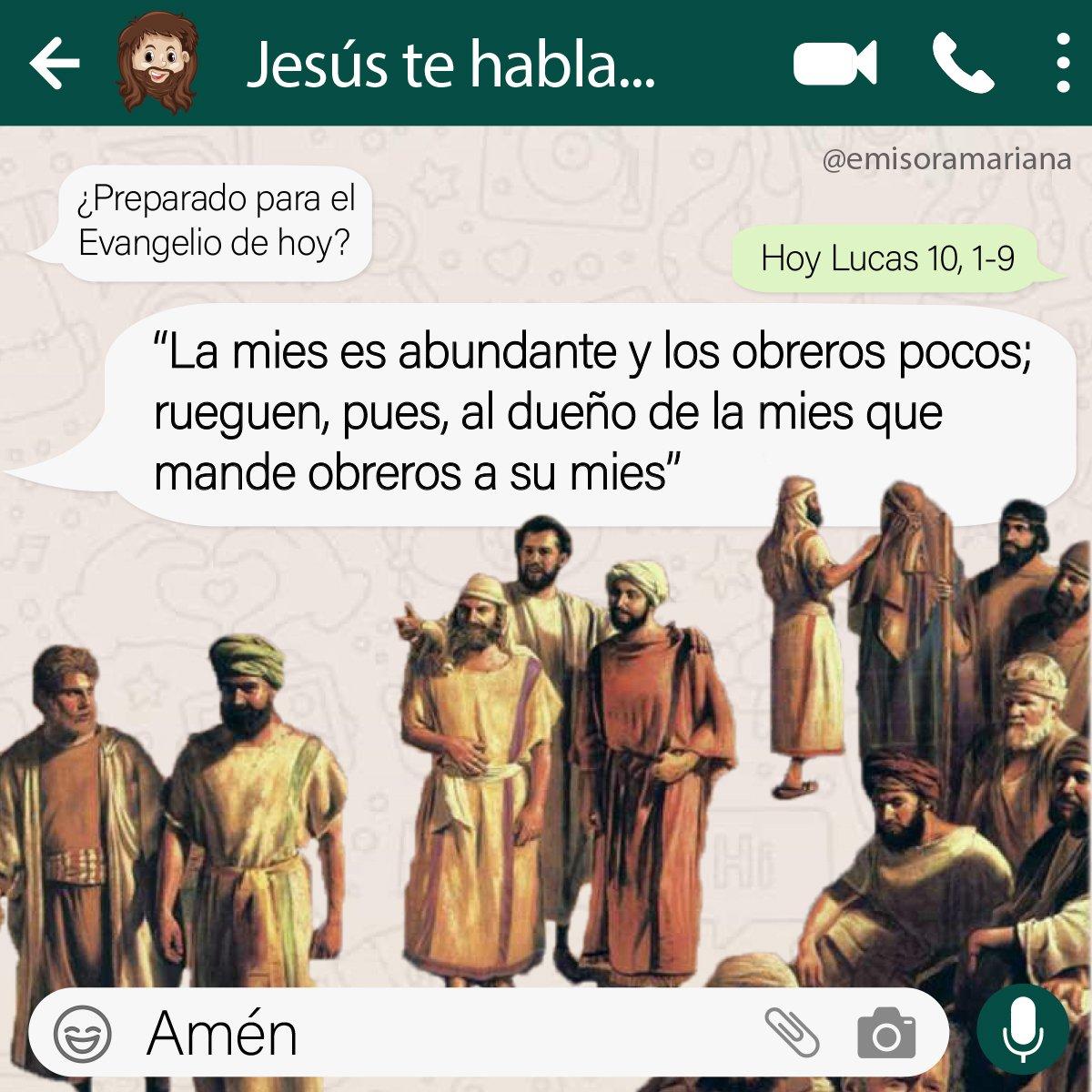 🤗Todos estamos llamados a orar por las vocaciones de la #IglesiaCatolica 😊🙏🏼  #26Ene #Feliz2021 #EvangelioDelDia #FelizMartes #26deEnero #AñoNuevo #FelizMartesATodos 😎