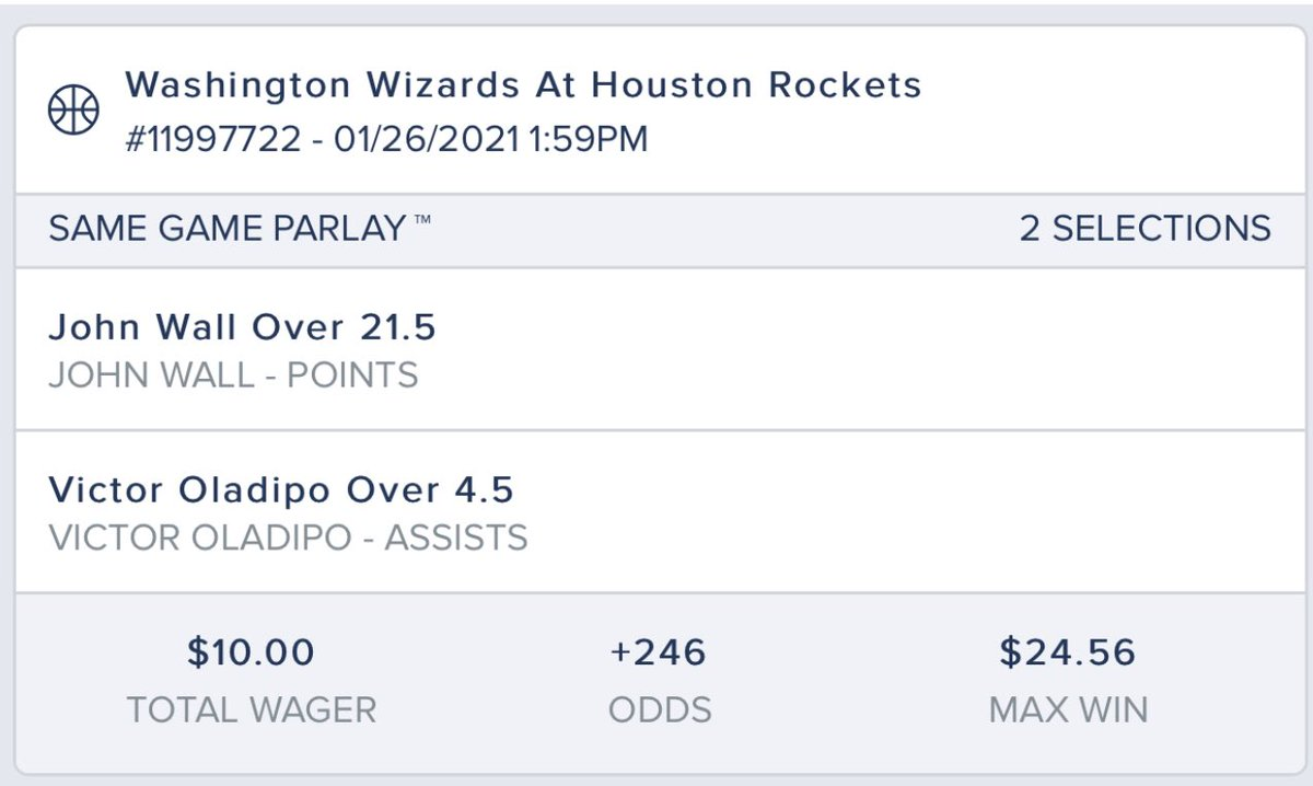 #SameGameParlay for tonight in the #NBA !! If I can redeem myself, more dances to come tomorrow 🤪