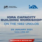 Image for the Tweet beginning: [News] IORA Capacity Building Workshop