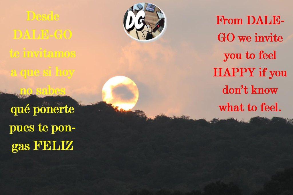 YouTube:  Spotify:  Facebook: @4dalego Twitter: @dale4go E-mail: dale4go@gmail.com Web(ESP):  Web(ENG):  #feliz #invitar #ponerte #happy #invite #feel