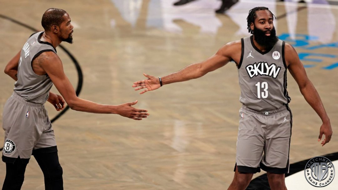 Seem like James Harden is having a good time in Brooklyn. Head over to https://t.co/BKfU1nRUZK and play against other sports fans.  #nba #basketball #brooklynnets #jamesharden  https://t.co/NLcXt4sgWp https://t.co/EUSiJljt9R