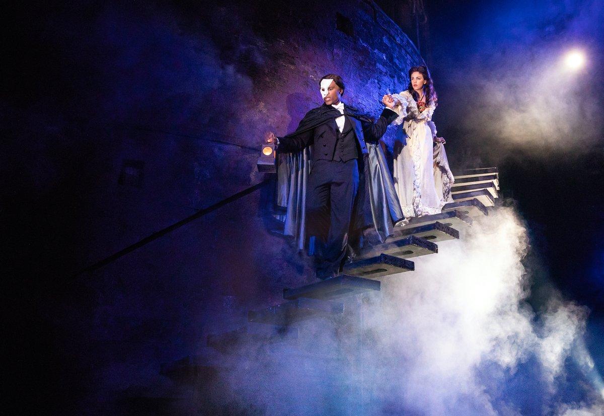 #OTD in 1988 @PhantomOpera opened its doors at the Majestic Theatre. Happy Anniversary to the longest-running show on #Broadway!  (📸: Matthew Murphy)