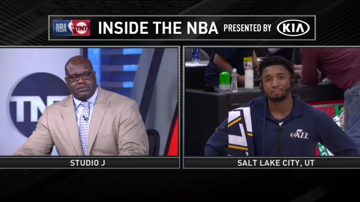 """Shaq under-develops his hot takes almost as well as his 1990s Shaq Fu video game."""" A Utah politician introduced a bill Tuesday honoring Donovan Mitchell over Shaquille ONeal 😂 buff.ly/2KQSOYB"""