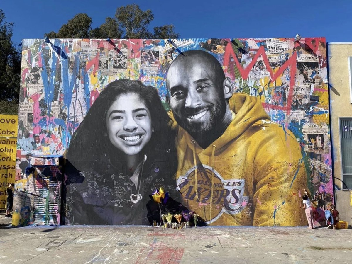 """""""The most important thing is to try and inspire people so that they can be great in whatever they want to do.""""   Rest in peace Kobe and Gigi. Gone but never forgotten."""