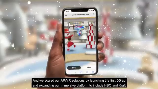 🌬️🥶Who else got chills? What a quarter! Check out all the amazing moments and successes from 4Q while we get ready for all the new excitement 2021 has in store. #InsideVerizon