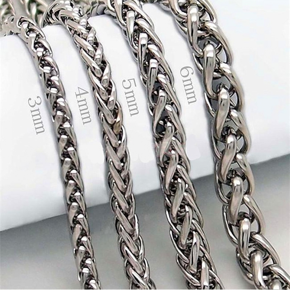 Men's Stainless Steel Chain Necklace #makeup #bestoftheday
