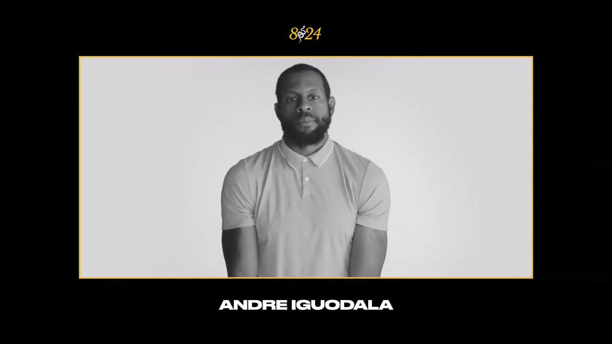 In Loving Memory of Kobe Bryant: Andre Iguodala  Going down memory lane, @Andre recalls the qualities of Kobe Bryant that made him great and what he learned from a time spent with him. #MambaForever