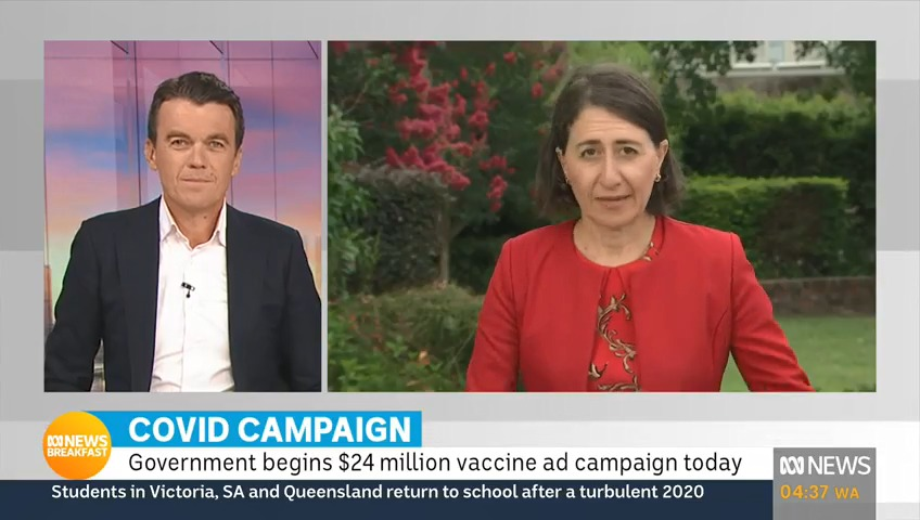 .@mjrowland68: You don't have a view on the misinformation he's spreading?  @GladysB: I think I have answered the question twice already.  The NSW Premier plays a straight bat on the misleading COVID-19 comments made by Craig Kelly.