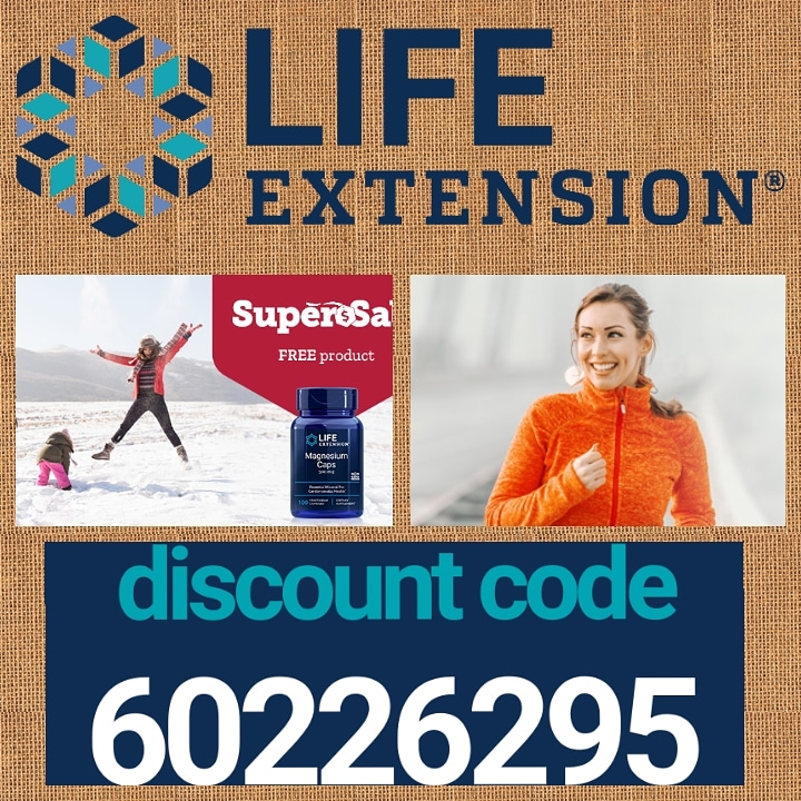 #Last Week of the🚨#Super SALE at Life Extension Europe!🚨 Get 65% discount or free shipping with this promo code➡️ 60226295 😄It never expires! Click here and start shopping👉   #Supplements  #Health #Beauty #MakeUp #Organic #Fitness #Diet #WeightLoss