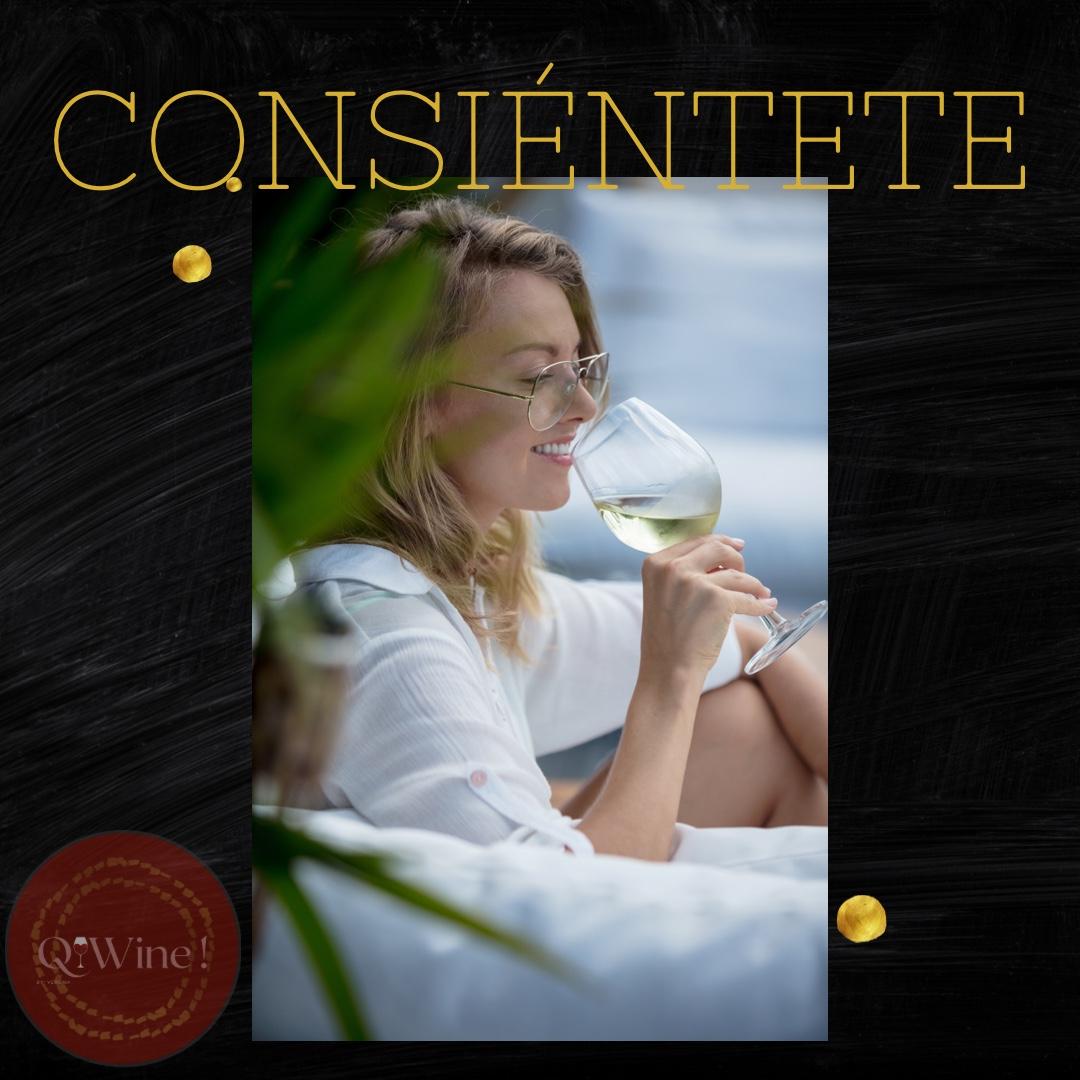 """Consentirse, radica en el merecido """"para usted y por usted"""". Significa tomarse el tiempo para hacer algunas actividades que te complazcan y te hagan sentir bien. Feliz martes - Equipo de Q! Wine 🍷🤍 #love #winelovers #vino #vinoblanco #vinotinto"""