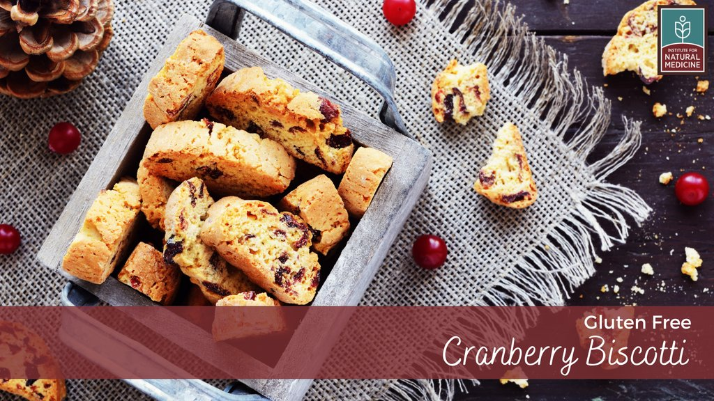 Wintery day? ☕ Curl up with a good book, hot coffee, and some cranberry biscotti! Try Dr. Amy's favorite gluten-free, healthy take on the delightful treat:   #selfcare #rainyday #snowday #recipe #healthyrecipes