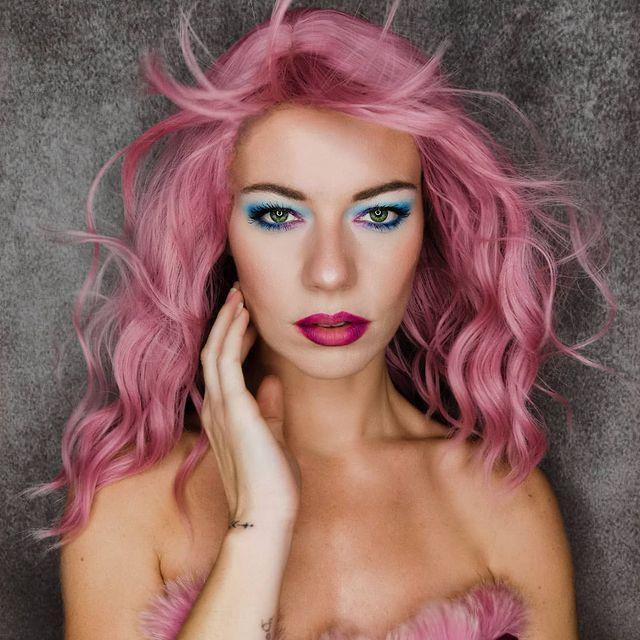 💗Model: @jessinflash_  🔥Style Code: NS063 👉  #wigisfashion #wig #wigs #hairgoals #dailyhair #hairstyle #pinkhair #pastelhair #gorgeoushair #cute #beauty #kawaii #makeup #fashion #fashionhair