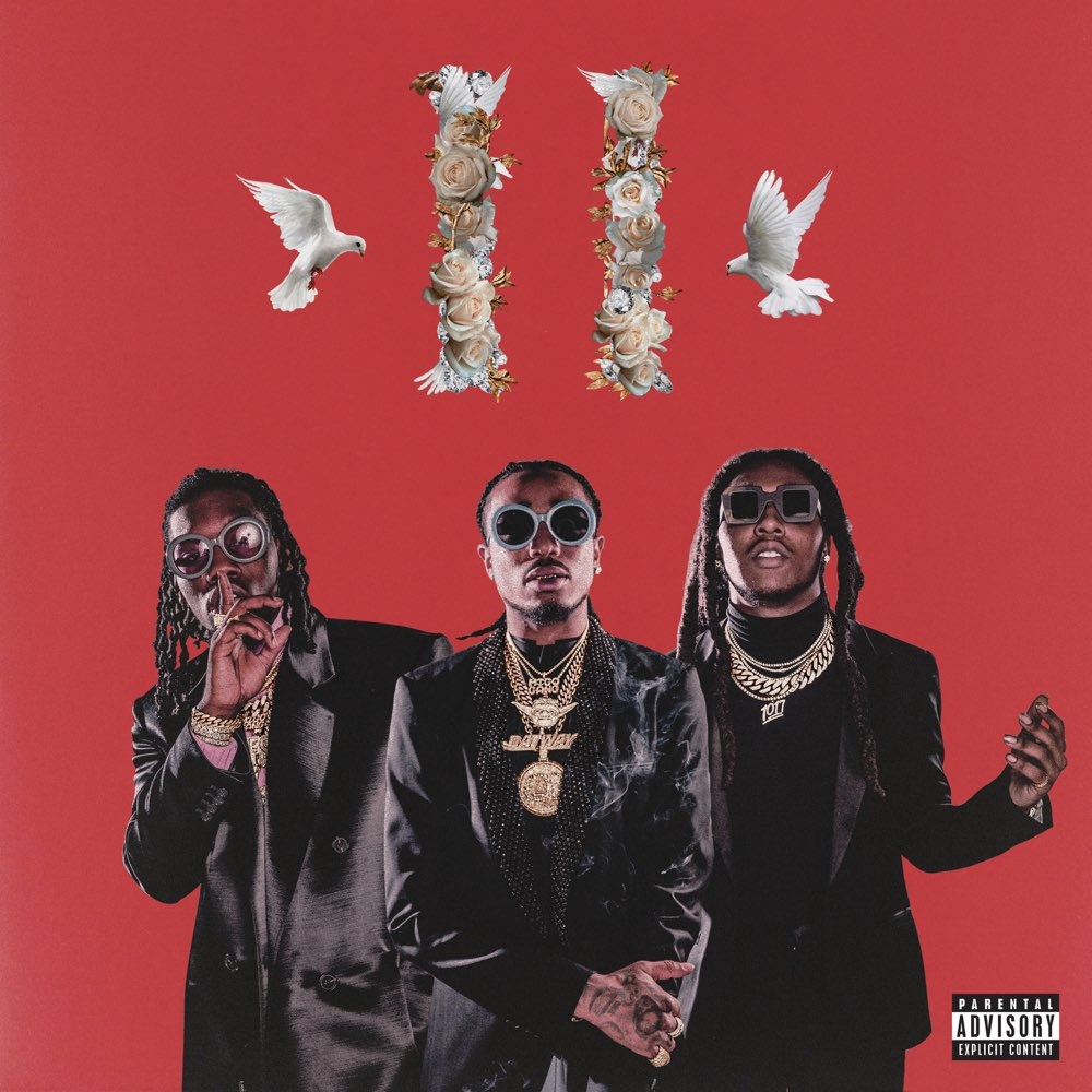 """3 years ago today, #Migos released """"Culture II"""" featuring the tracks """"MotorSport"""" """"Walk It Talk It"""", """"Stir Fry"""". Comment your favorite song off this album below! 👇🎶🔥 @Migos #HipHopHistory"""