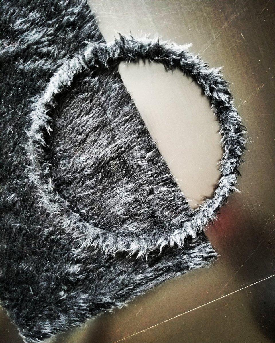 Chanelling my inner bear today #weavingishealing #beadingishealing #workinprogress @BougieBirch