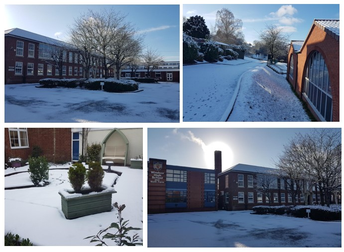 Thought you might like to see some #snowy scenes from school.⛄️Great to see lots of brilliant and creative remote learning going on out there! 🙂#StaySafeEveryone #SnowBootsOn! @winacadtrust