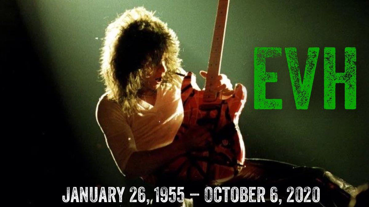 In Memory of Eddie Van Halen #VanHalen #EddieVanHalen