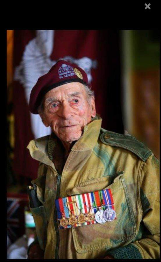 Really sad to hear the passing of Tom Hicks. Tom was one of the first to drop into Arnhem during WW2 where he was taken prisoner. Heaven just gained another Hero. Lest We Forget.