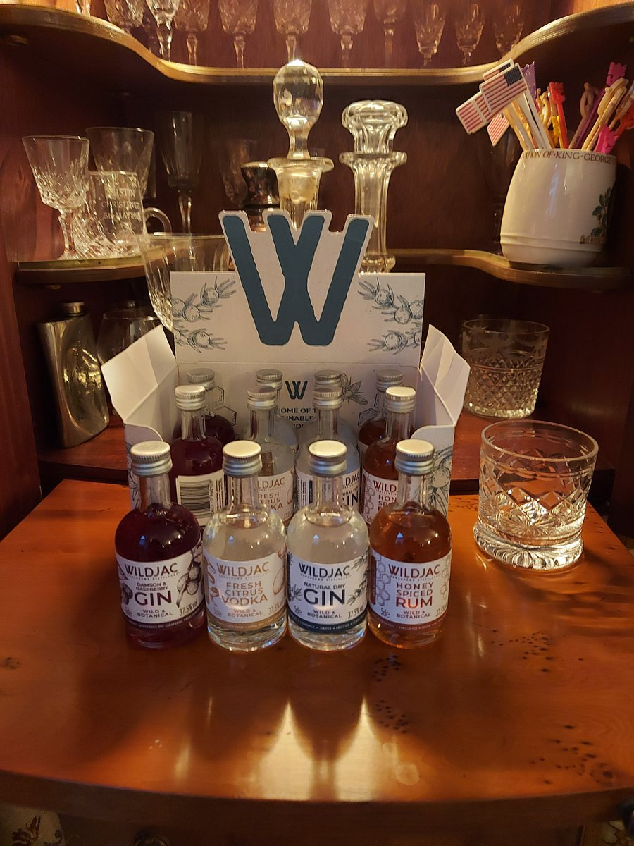 Can never have too much #Gin #Vodka or #Rum. Keeping spirits high at the homestead.  Made by a Family run company based here in the West Midlands