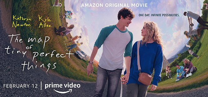 This movie is so sweet and cute, we don't even mind how much math is in it! The Map of Tiny Perfect Things arrives February 12.