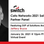 Image for the Tweet beginning: Switch SVP of Solutions Architecture,