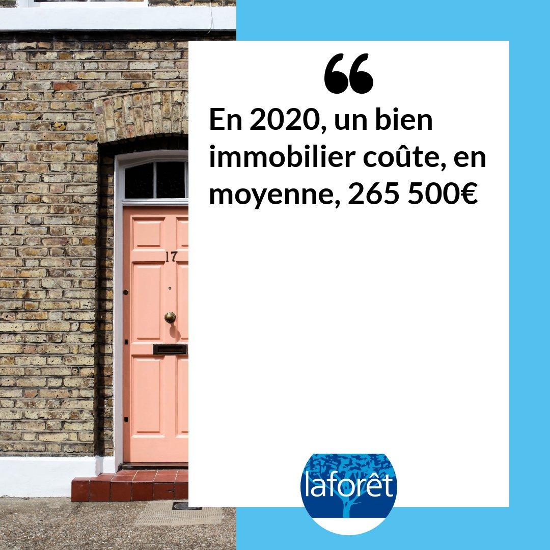 À la lecture du #Baromètre LPI-SeLoger, on constate que le prix moyen d'un logement ancien, en France, a augmenté de 5,8 % en 1 an ! 📈 #BestOf2020