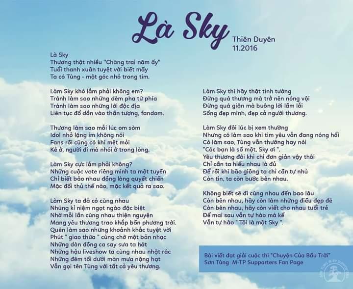 Tùng ơiiiiiii Anh phải thật mạnh mẽ, thật  kiên cường lên nhéeeee Có Sky tin anh, thương anh, bảo vệ anh mà 💙💙💙 @sontungmtp777 #sky #allforTung