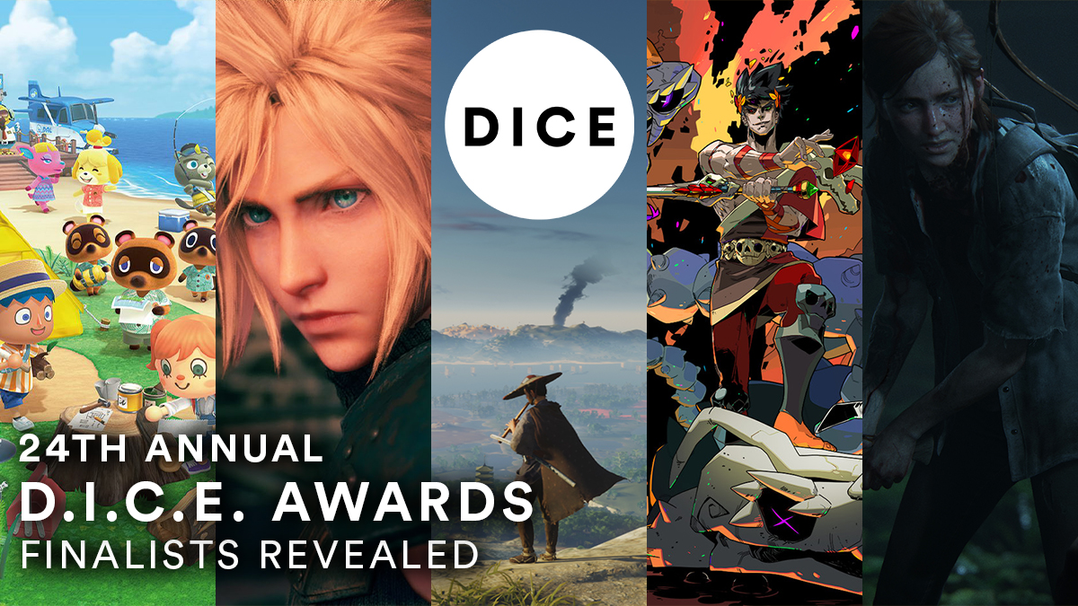 We're pleased to announce the nominees for our 24th Annual #DICEAwards! A total of 57 games received nominations this year, led by The Last of Us Part II with 11, Ghost of Tsushima with 10, and Hades with 8. See the full list of nominated titles here: