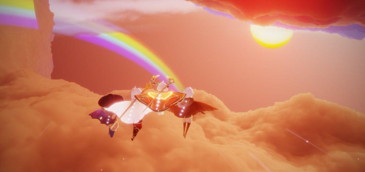 This place is magic ✨🌈  #sky星を紡ぐ子どもたち #SkyChildrenOfTheLight #sky #game #videogame #OOB