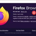 Image for the Tweet beginning: #Security #Update #Mozilla #Firefox 85.0