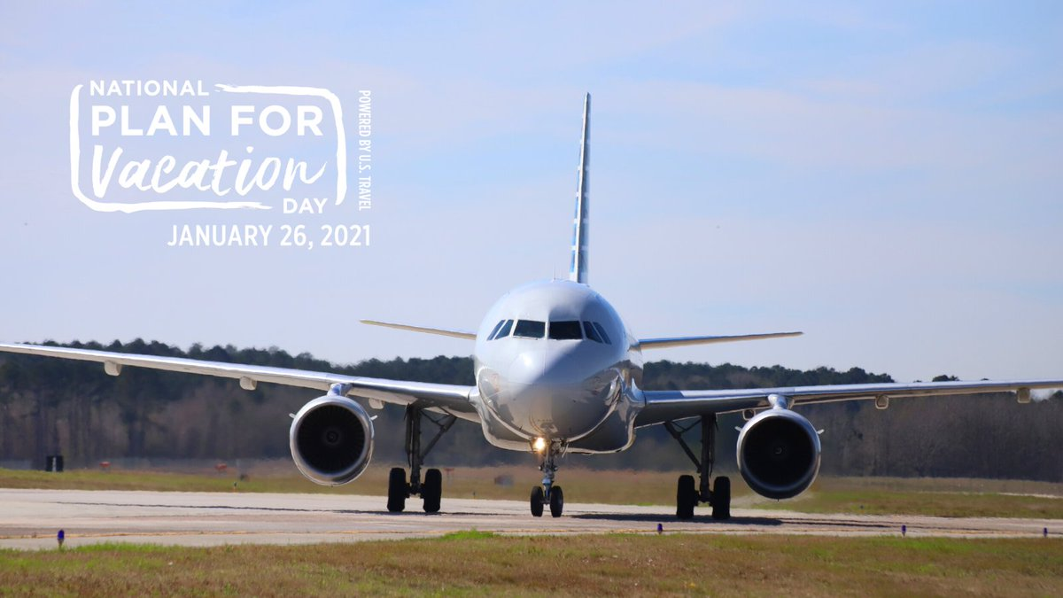 It's National #PlanForVacation Day! What vacation have you been dreaming of? #LetsMakePlans #flySAV