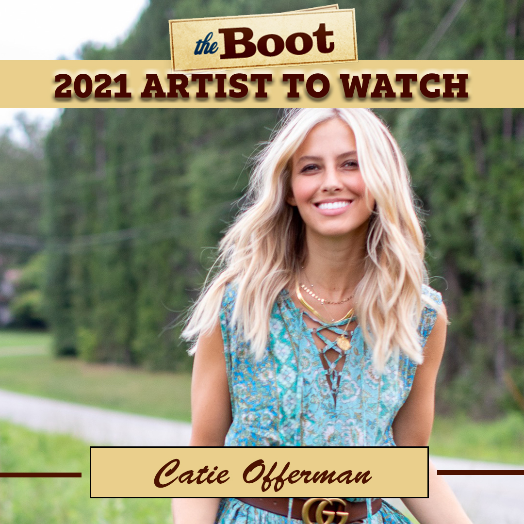 New Braunfels, Texas, native @catieofferman joined a polka band at age 11 and traveled the Lone Star State; after spending time in Los Angeles, Calif., she decided to pursue a career in country music and moved to Nashville.  READ MORE: