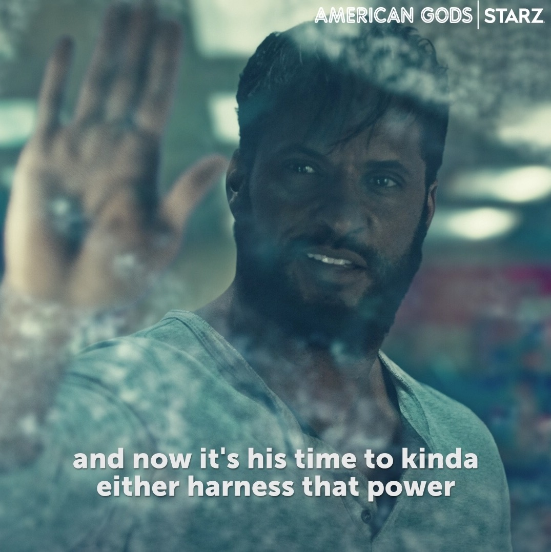 It's been a WEEK for those with the last name Moon. Go behind-the-scenes with @MrRickyWhittle and Emily Browning and watch the latest episode of #AmericanGods now on the @STARZ App.