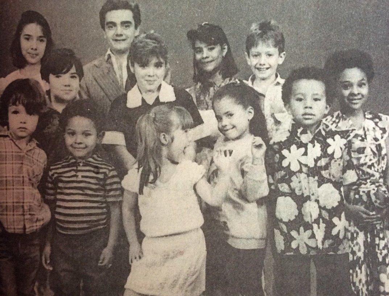 "El elenco del programa infantil ""chiquilladas"" en 1989 @Anahi @pierreangelot @KalimbaMX @macpuente @MULATA_MARICHAL"