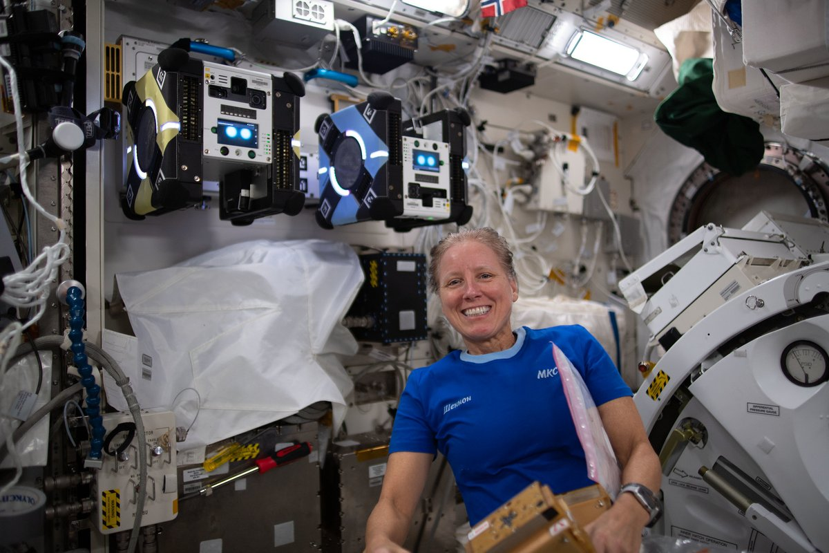 """📖 LIVE: Tune in for Story Time from Space!   From the @Space_Station, Shannon Walker of @NASA_Astronauts reads the children's book """"Willow the Water Bear"""" & answers questions from students:"""