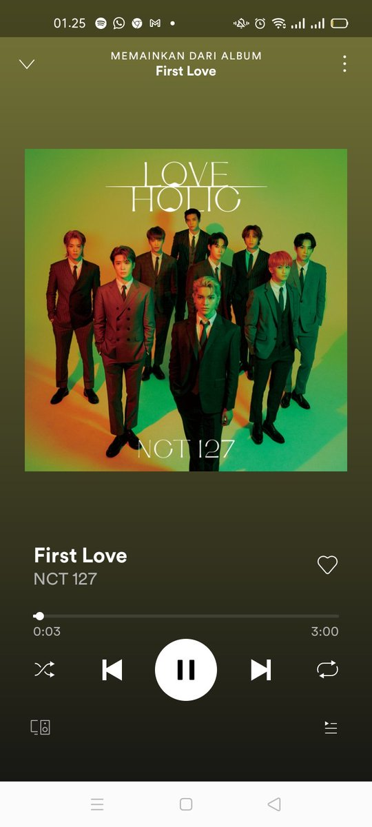 !! STREAMING CHALLENGE !!  1 MILLION STREAMING ON SPOTIFY IN 24 HOURS FOR 127DAYS   #NCT127_FirstLove #NCT127  @NCTsmtown_127 Together? We can make it!  Fighting!   Don't break the chain @jaehonly @tyongenic @jungwoosfate @jwooville @VVSLTY
