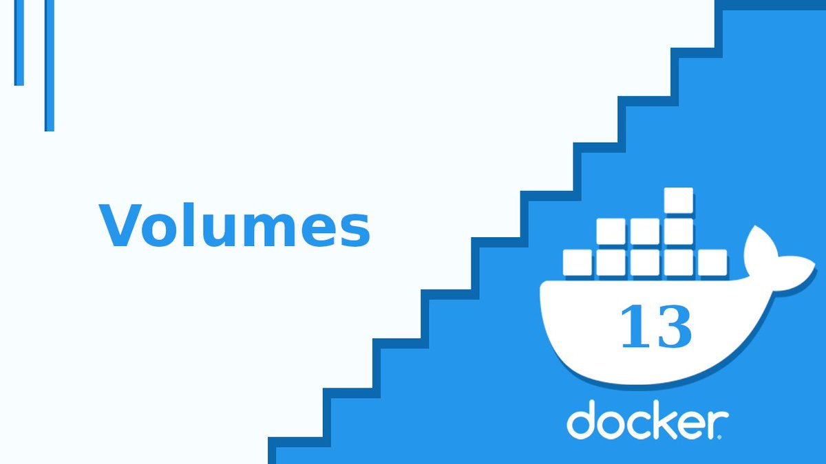 Capitulo 13 del curso de docker disponible 👀 Veremos como ocupar volumes para guardar la información de MYSQL para que persista 🐳  Me apoyan con un rt 🌏#devops #linux #docker  https://t.co/jJdYtkwTml https://t.co/Mp4m93aoxf