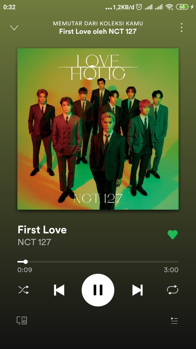!! STREAMING CHALLENGE !!  1 MILLION STREAMING ON SPOTIFY IN 24 HOURS FOR 127DAYS   #NCT127_FirstLove #NCT127   @NCTsmtown_127 Together? We can make it!  Fighting!   Don't break the chain @Johnnyenthus @YutaLovegood @tyobubu @snoopyongie @jyistic