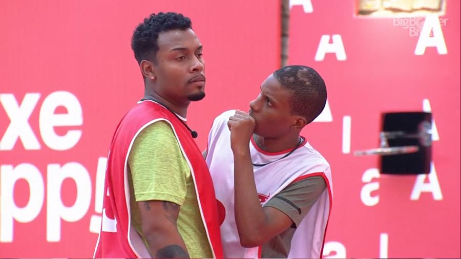 Lucas e Nego Di vencem a primeira prova do #BigBrother Brasil 2021 -->