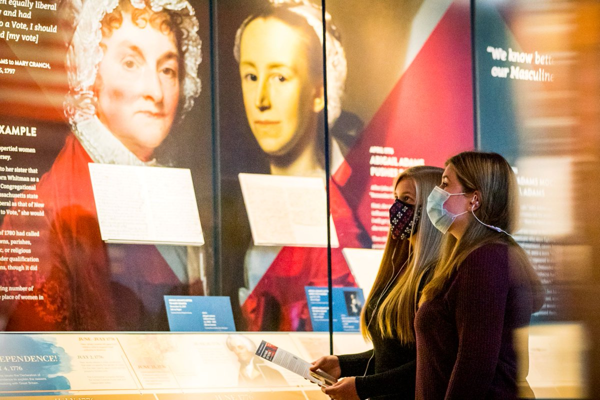 It's National #PlanForVacation Day, a perfect day to plan your next trip to the Museum! Plan your next in-person or virtual visit to rediscover the Revolution and explore our special exhibit When Women Lost the Vote. #LetsMakePlans  Visit: