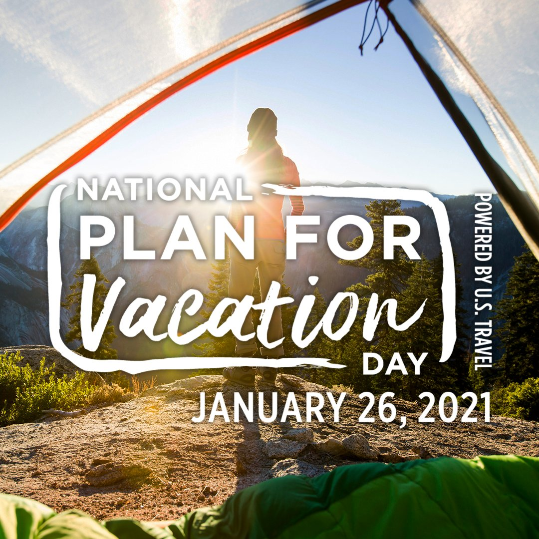 6 in 10 Americans say they desperately need a safe vacation. TODAY is your chance to pull out the calendar and start dreaming about a future trip— it's National #PlanForVacation Day! #VisitBarHarbor 📆