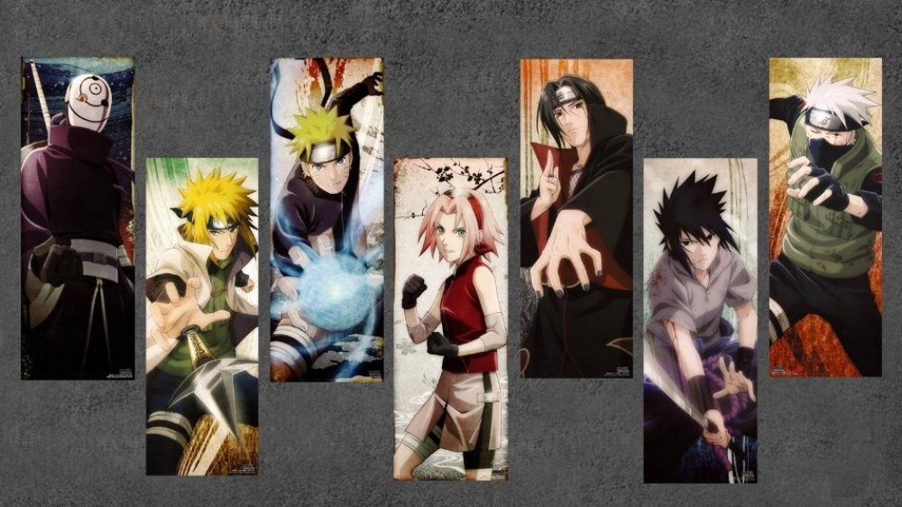 #toys Only - $ 54.00 !  High Quality Canvas Naruto Cuadros Unframed Oil Painting Picture