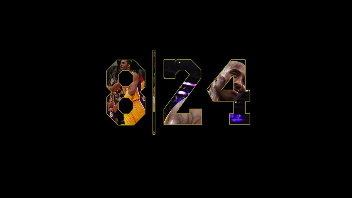 8 minutes and 24 seconds of our Kobe memories  #MambaForever 💜💛